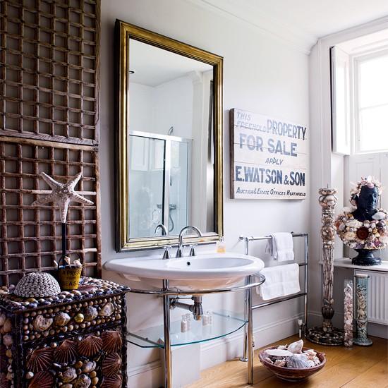 łazienka Z Morskimi Akcentami Blog Designbywomen