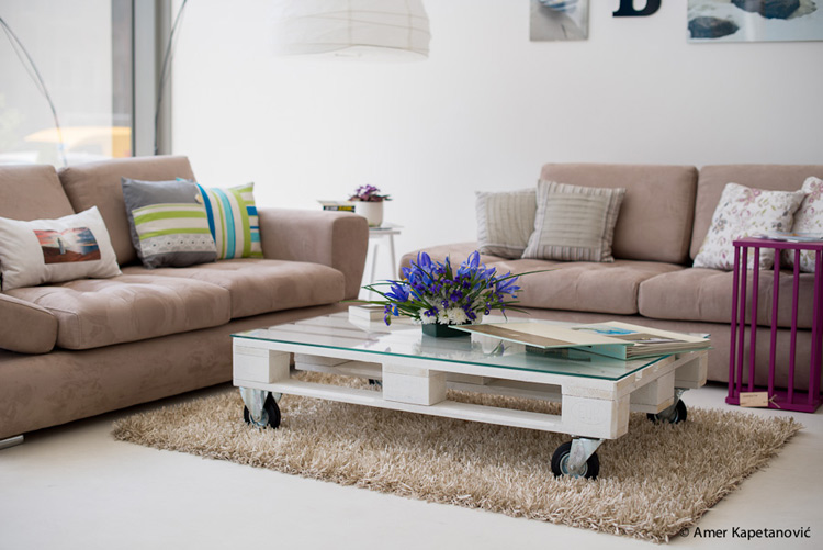 Drewniane palety - tani sposób na meble w domu - Blog ...