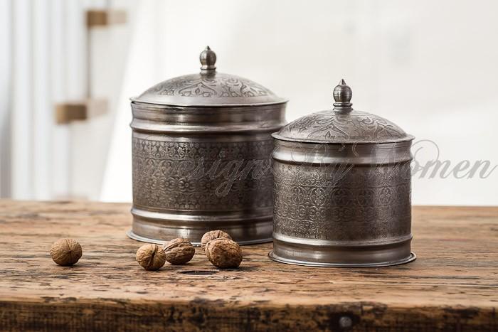 Bomboniery-szkatułki metalowe Orient