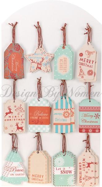Zawieszki świąteczne na prezenty