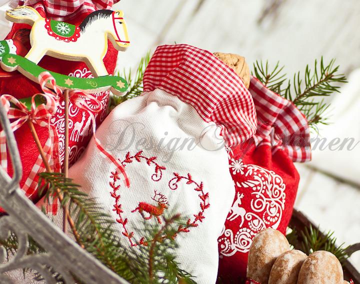woreczek bawełniany na prezent