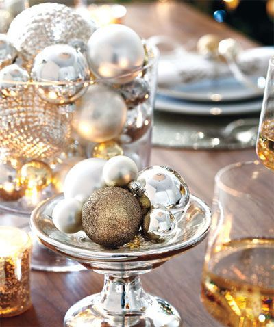 glamour christmas decor
