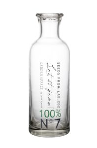 butelka z napisami