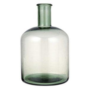 zielona butelk dekoracyjna