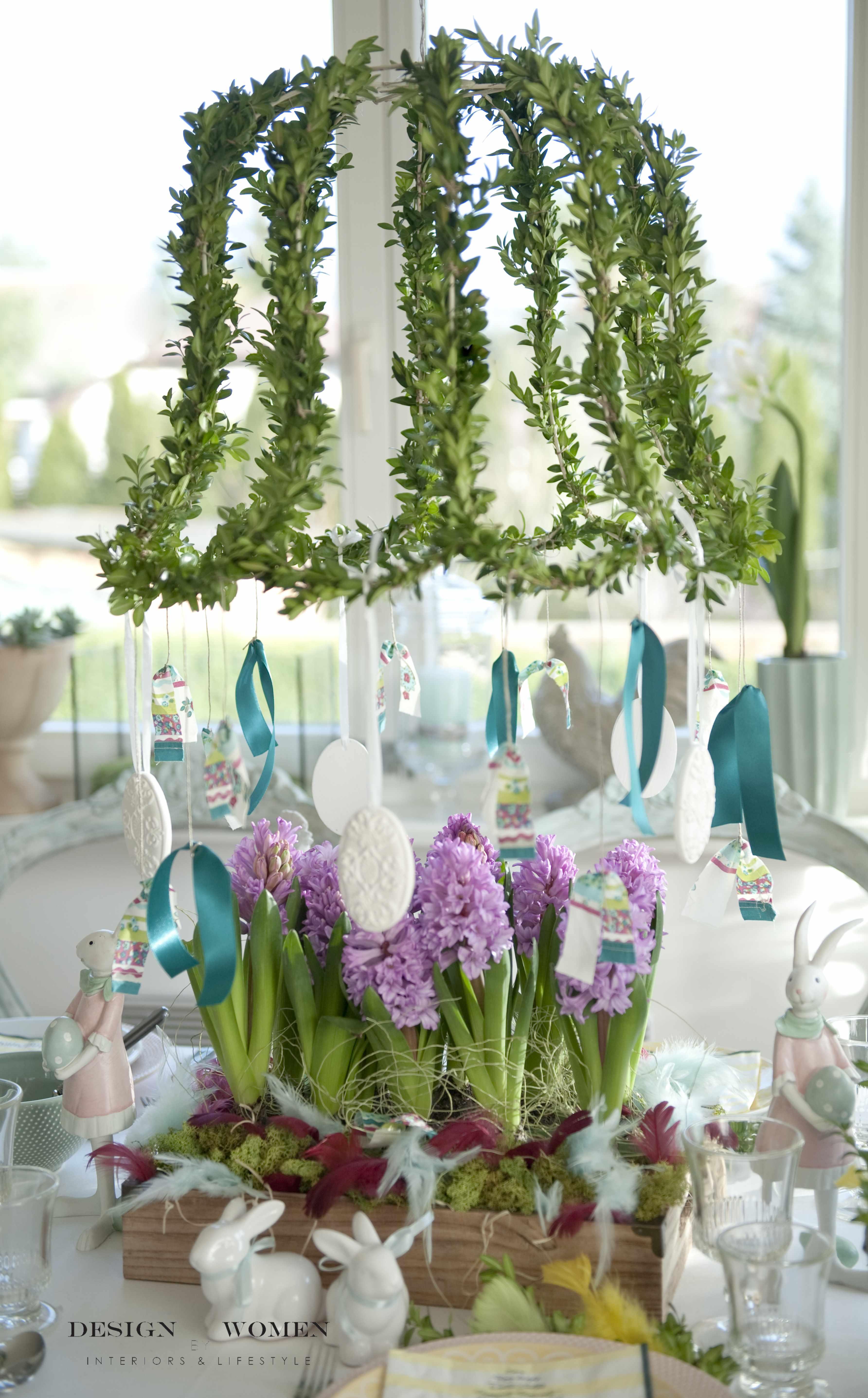Wielkanocny Stół I Pomysły Na Wiosenne Dekoracje Domu Blog